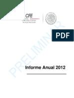 Informe2012CFE