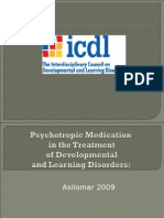 Psychotropic Meds Asilomar