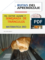 Semejanza de Trioangulos