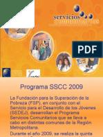 Presentación SSCC-SEDEJ Salud  2009