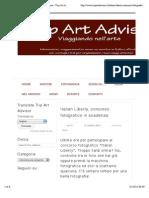 31.10.2013, 'Italian Liberty, concorso fotografico in scadenza', Trip Art Advisor.pdf