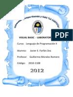 Laboratorio 2- Visual Basic