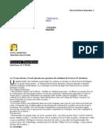 Bourdieu Recueil d'Entretiens Et d'Articles