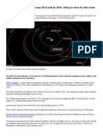 Apophis to sweep closely past Earth on Jan. 9, 2013.doc