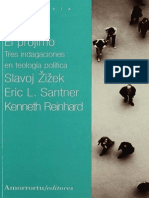 Zizek Santner Reinhard El Projimo
