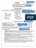 form 2 3 sale resume example