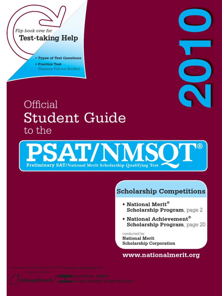 PSAT student_guide 2010.pdf | Permanent Residence (United States) |  Companies