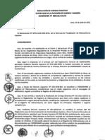 RCD 0088-2012-OS-CD - Registro Para Transporte de Hidrocarburos en Cilindros