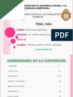 PATOLOGÍA GENERAL I - ENTREGA DE PRODUCTO II- SIDA