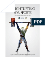 Weightlifting for Sports