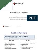 EmcienMatch Sales Effectiveness Overview