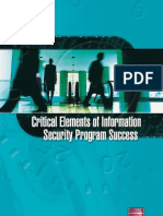 Information Security Program Success