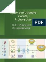 Evolutionary Milestones