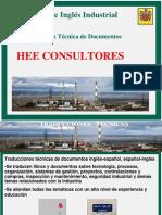 Traducción Técnica HEE Consultores 2009