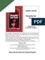 Agatha Christie-Dreizehn Bei Tisch PDF