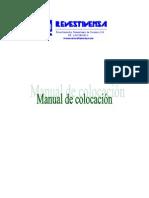 Manual de Colocacion