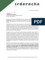 Comentarios al Proyecto de Ley No. 2511/2012-CR — Proyecto de Ley de Protección del Menor de Contenidos Pornográficos en Internet — Ley Chehade