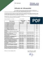 Certificado de Ultrasonido 25 10 11