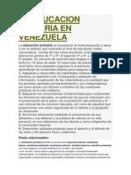 LA EDUCACION PRIMARIA EN VENEZUELA.docx