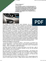 Auto électrique _ le salut par les flottes d'entreprise _, Actualités