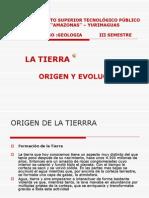 Origen y Evolucion de La Tierra