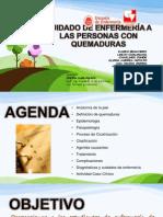 CUIDADO DE ENFERMERÍA A LAS PERSONAS CON QUEMADURAS fINAL