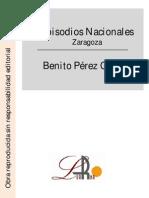 Episodios Nacionales - Zaragoza