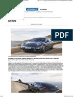 Porsche Panamera Turbo S, La Plus Sportive Des Familiales