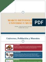 Marco Metodologico-Poblacion y Muestra