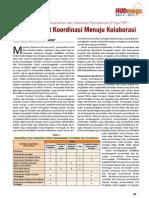 Kelompok Kerja Perumahan dan Kawasan Permukiman (Pokja PKP). Memperkuat Koordinasi Menuju Kolaborasi.