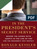 In the President's Secret Service by Ronald Kessler - Excerpt
