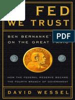 In Fed We Trust by David Wessel - Excerpt