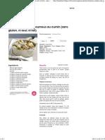 Agneau mariné et houmous au cumin (sans gluten, ni œuf, ni lait) - une recette Exotique - Cuisine