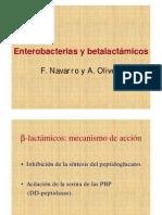 Enterobacterias y Beta Lactamicos