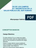 Efectos de Los Campos Electricos y Magneticos en La Salud Publica Humana
