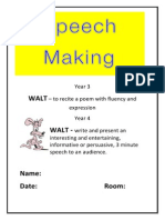 speech writing booklet docx