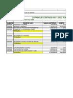 Listado de Centros 0502 - 7099 Por Auxiliar