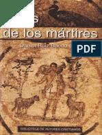 ACTAS DE LOS MÁRTIRES  Daniel Ruiz Bueno (ed.)