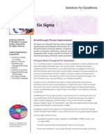 Six Sigma Solution Performance improvement