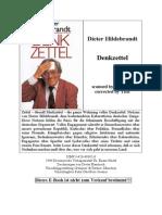Hildebrandt, Dieter - Denkzettel