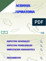 Presentación acidosis respiratoria