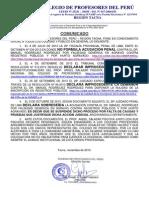 SUSPENDEN DEFINITIVAMENTE ACCIÓN JUDICIAL POR FALTA DE CAUSAS Y PRUEBAS