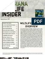 Office of Wildlife Newsletter (Spring-Summer 2009)