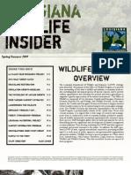 Office of Wildlife Newsletter (Spring-Summer 2009)