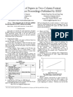 IEEE Conference Paper Template