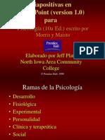 Capitulo I Fundamentos de Psicologia