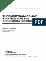 Termodinamica y Cinetica de Las Reacionnes Biologicas
