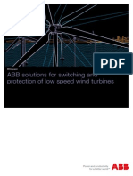 Proteccion Para Turbnas Eolicas de Baja Velocidad
