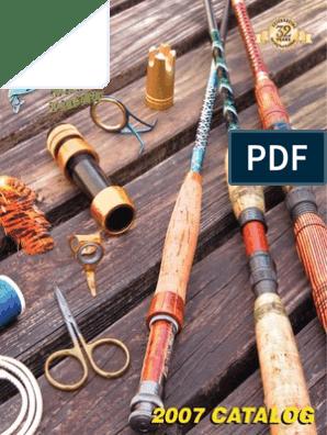 Fishing rod tools and blanks MudHole 2007 pdf | Fishing Rod