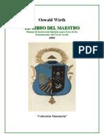 Wirth Oswald El Libro Del Maestro